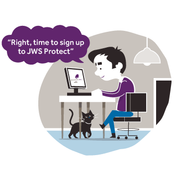 Time to sign up to JWS Protect