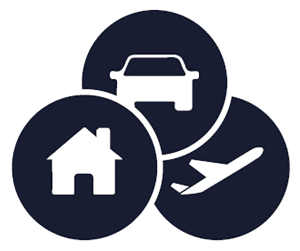 Comprehensive Motor, Home and Travel insurance in one convenient package